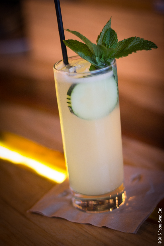 Salt of the Earth cocktail, $11